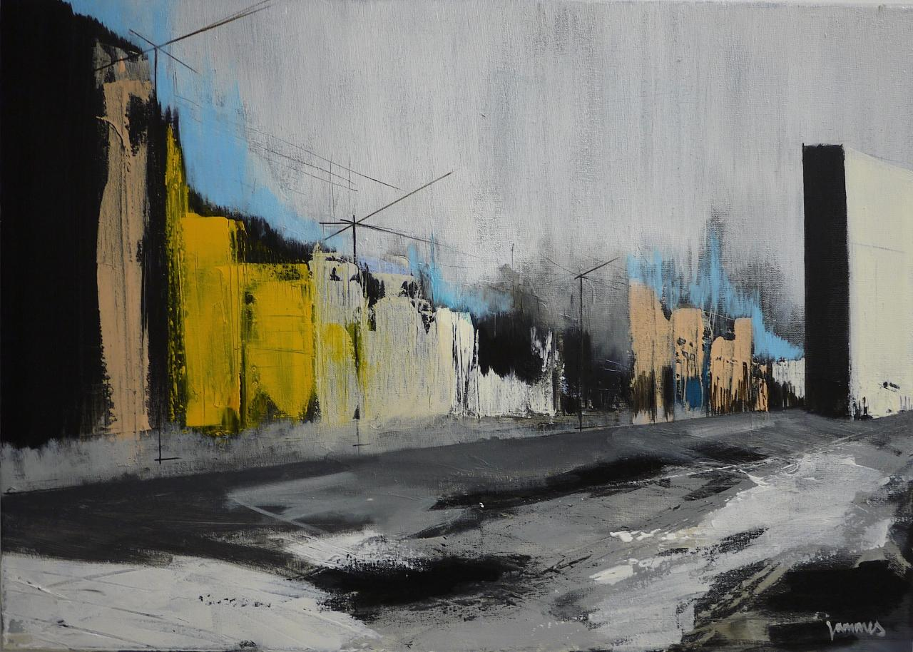 City and atmosphere n°19: 50/70 cm*