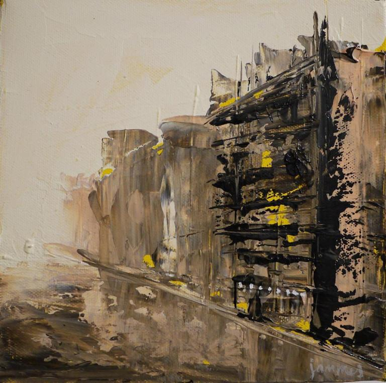 City and atmosphere n°22: 20/20 Acrylique sur toile*
